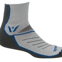 Swiftwick Two Pewter/Olimpic Blue Small