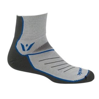 SWIFTWICK Swiftwick Two Pewter/Olimpic Blue Small