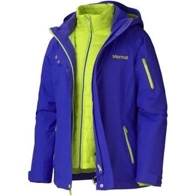 Marmot Julia Component Jacket Electric Blue  Small Women's