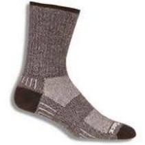 WRIGHTSOCK CUSHION OUTDOOR DOUBLE LAYER BLACK MEDIUM MEN'S
