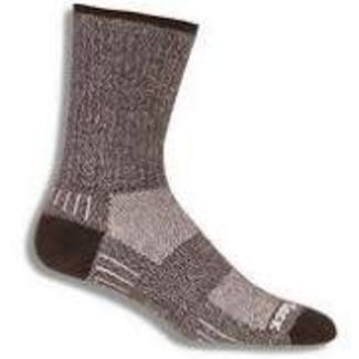 WRIGHTSOCK WRIGHTSOCK CUSHION OUTDOOR DOUBLE LAYER BLACK MEDIUM MEN'S