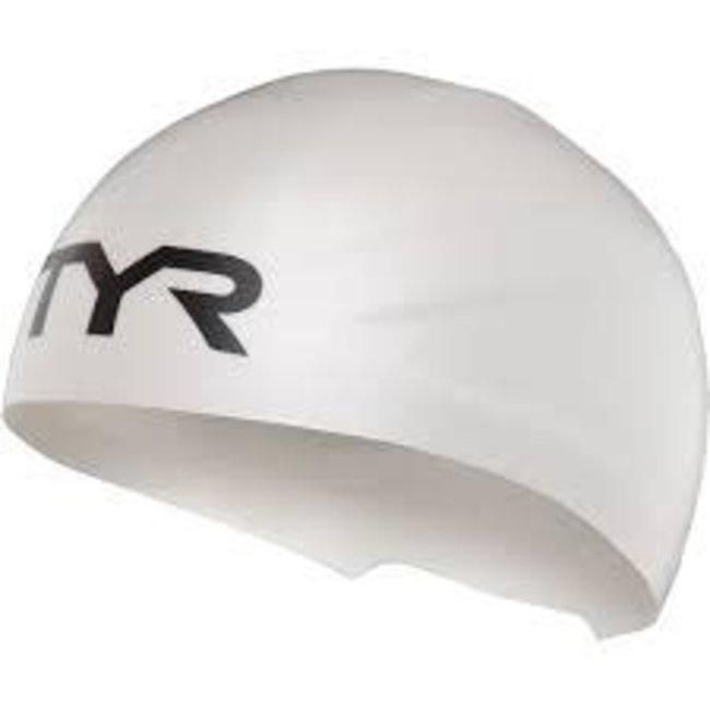 TYR TYR Wall Breaker Cap White  XS/S