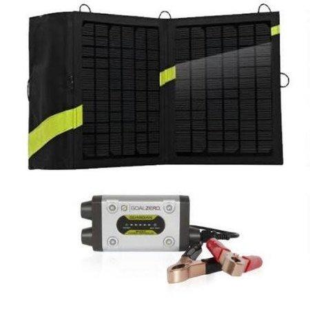 GOAL ZERO Goal Zero Guardian 12V Solar Recharging Kit With Boulder Solar Panel