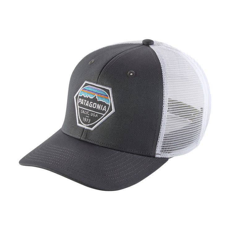 5b25927bee1d6 PATAGONIA Patagonia Fitz Roy Hex Trucker Hat | No Boundaries Sport