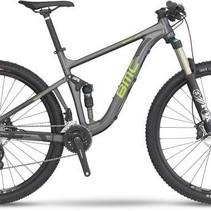 Bmc Speedfox 03 Slx 2016 Gray Green  Small Mountain Bike