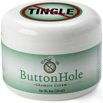 Enzo's No Tingle Button Hole Chamois Cream
