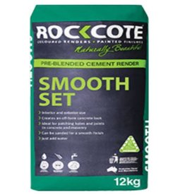 Rockcote ROCKCOTE Smooth Set White 12kg