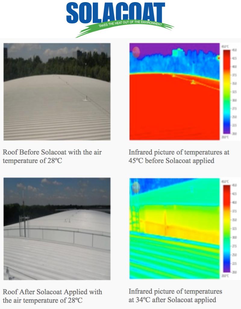 Solacoat SOLACOAT Heat Reflective Coating for coastal environments