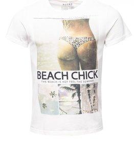 Blend Beach Chick Crew Neck S/S T-Shirt