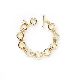 Seventies Link Toggle Bracelet