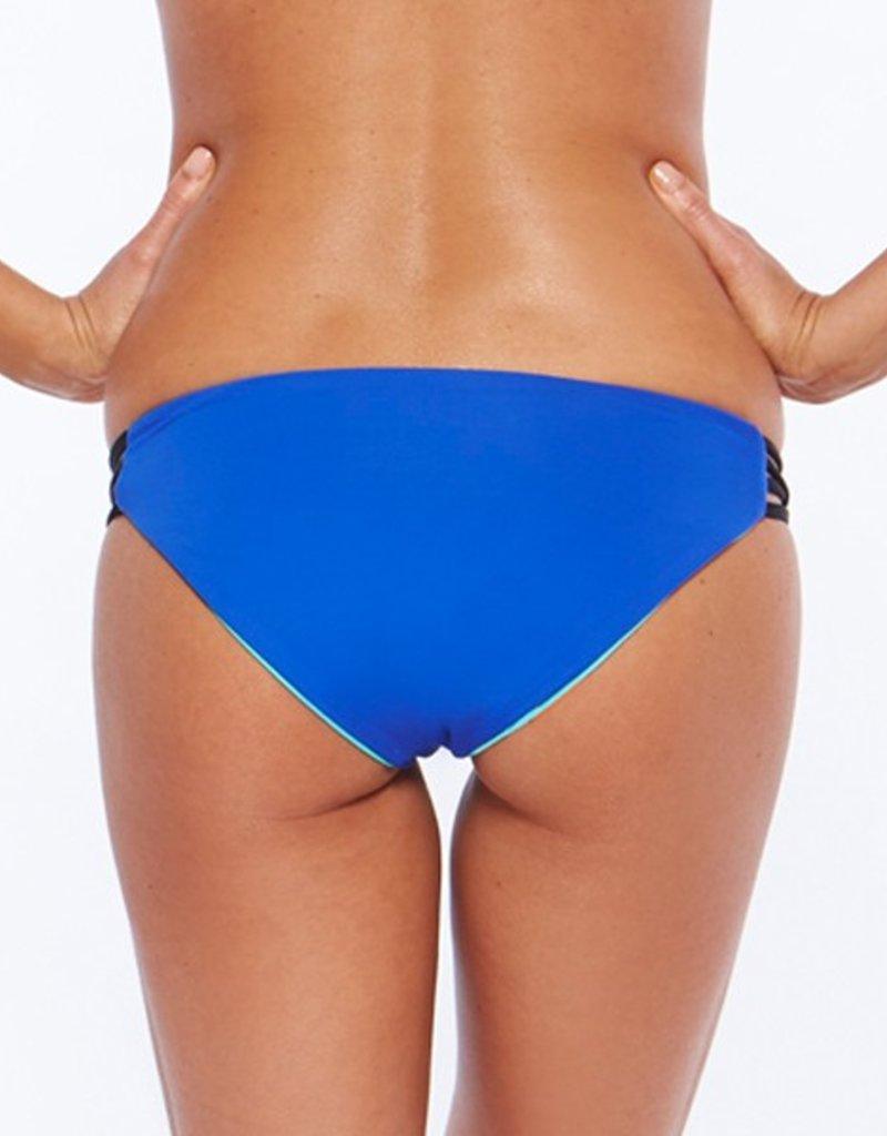 L Space Color Block - Low Down Reversible Classic Cut Bikini Bottom
