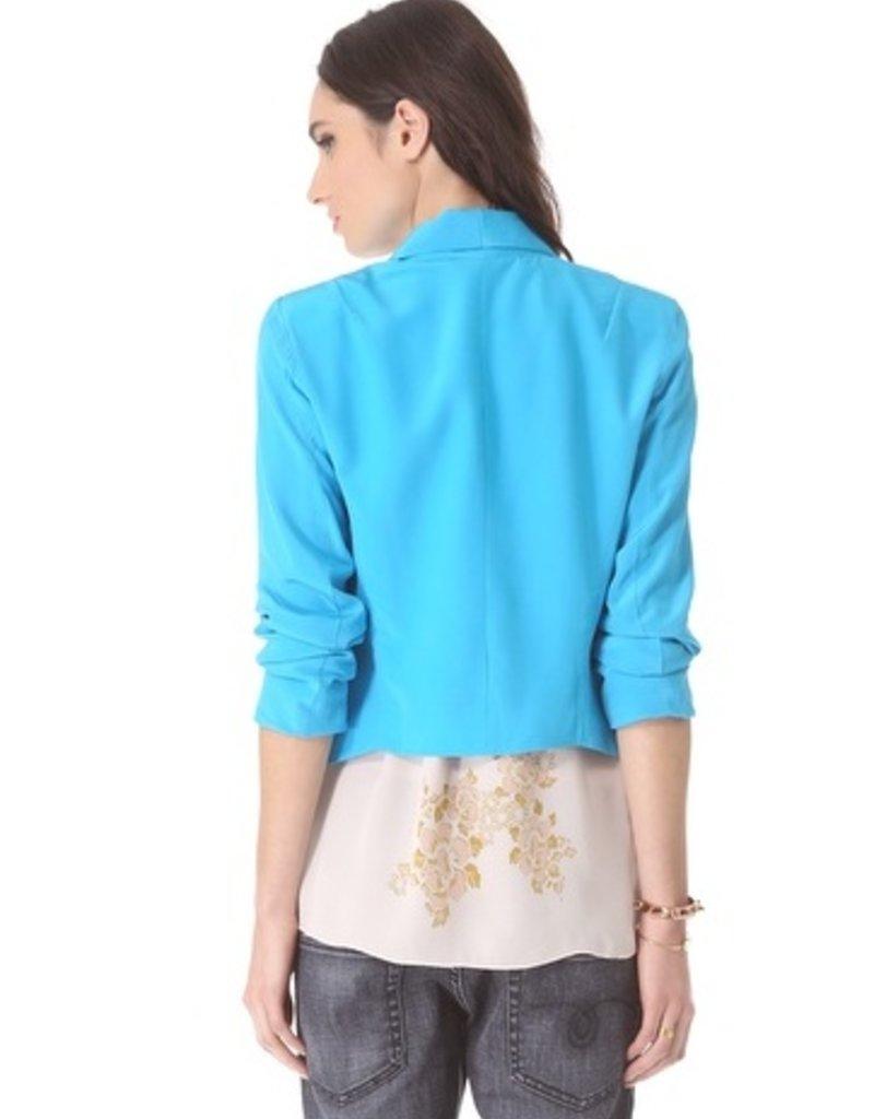 Charlie Jade Silk blazer jacket