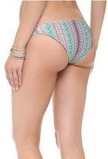 L Space Plumage - Trixter Reversible (classic cut) bikini bottom w/ shell tabs