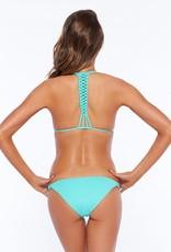 L Space Sensual Solids - Palm Beach Classic Cut Bikini Bottom