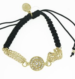 Blee Inara Eye Chain and Macrame Bracelet
