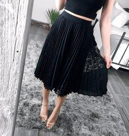 Darling Marigold Pleated Skirt