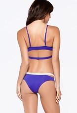 L Space Two Timer - Platinum Triangle Bikini Top