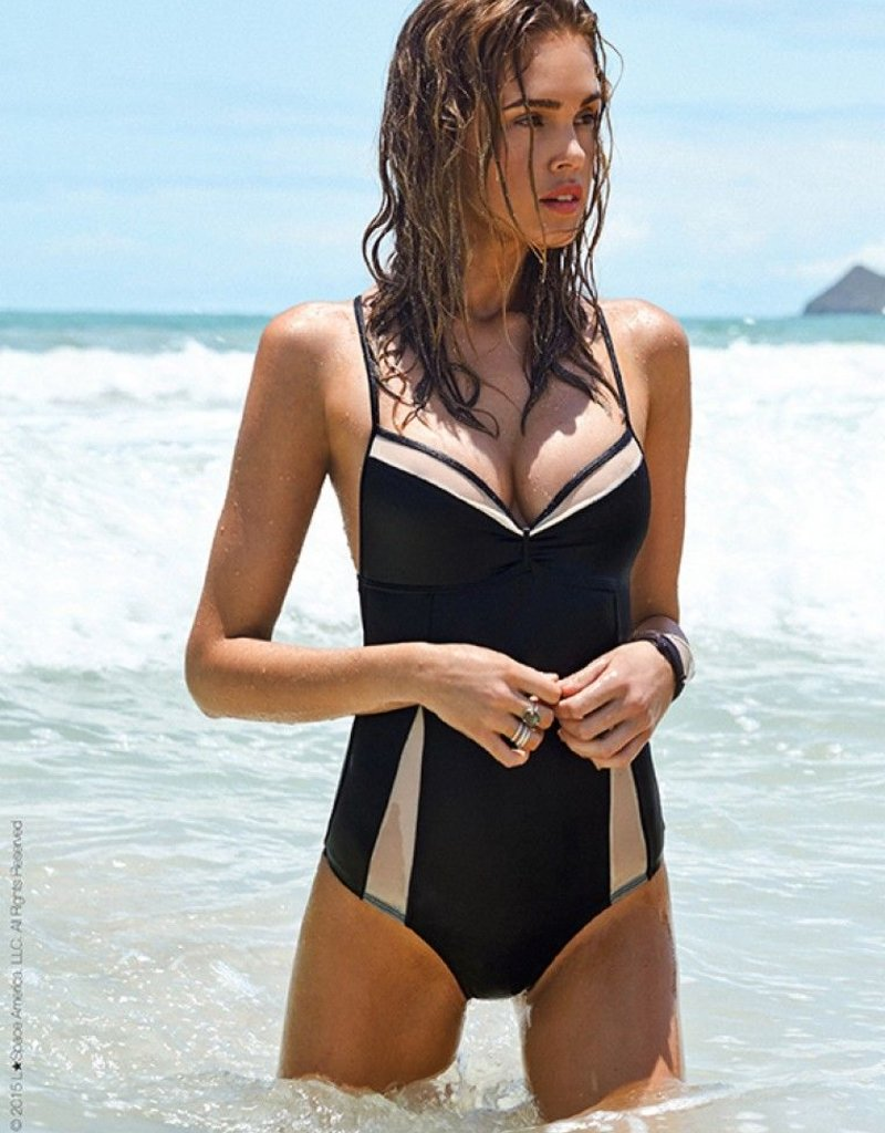 L Space Black Magic - Le Diva One Piece Swimsuit