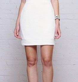 Greylin Salma Sheer Front Double Spaghetti Straps Dress