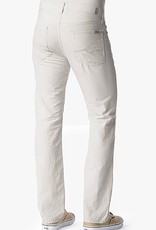 7 For All Mankind Cotton linen standard classic straight leg pant