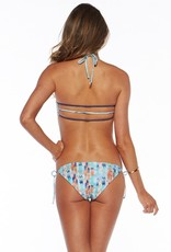 L Space Arrows - Strap Back Bikini Top