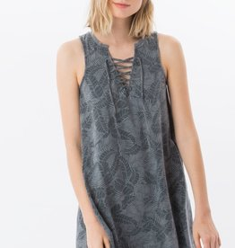 Z Supply The Palms All Tied Up Sleeveless Dress w/ Side Pockets