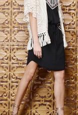 Greylin Nikole Crochet Fringe Jacket