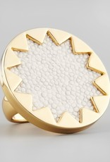 House of Harlow Sunburst Ring