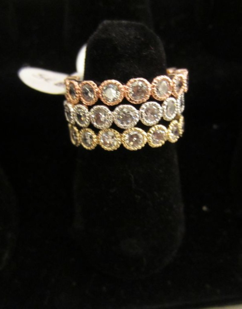 Romeo + Juliet Crystal Ring