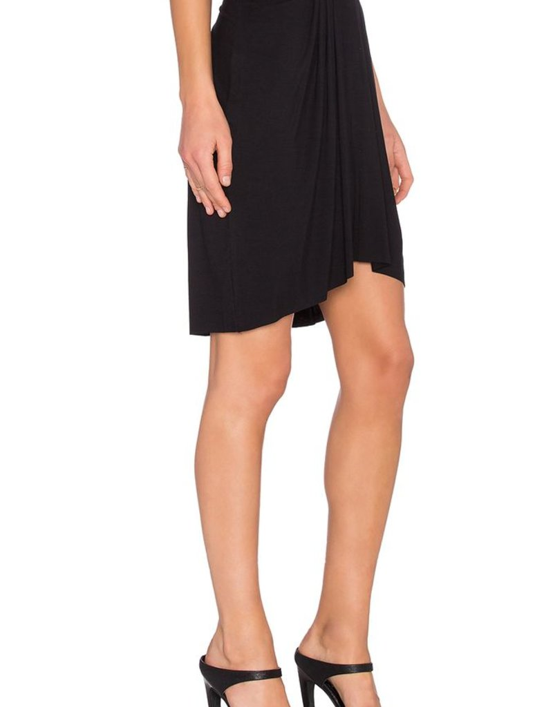 Bella Luxx High-Low Pleated Skirt