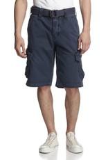 Jetlag Take Off 3 interior cinch tie waistband cargo button flap pockets relaxed 1/2 short w/ woven belt