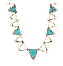 House of Harlow Goddess trinity collar necklace from house of harlow 1960.