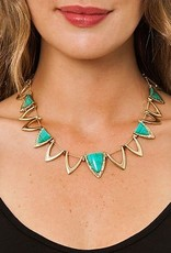 House of Harlow Goddess Trinity Necklace