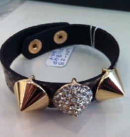 Loviea Snakelike Leather Bracelet