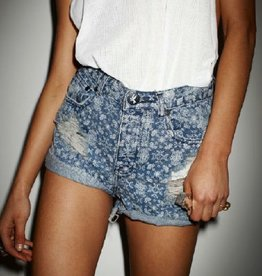 One Teaspoon Paisley Hawks Short