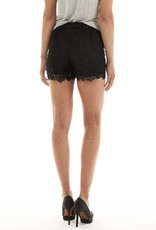 Soaked in Luxury Kiss Floral Lace Shorts