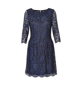 Soaked in Luxury <li>Color: Navy on Black Base<br />