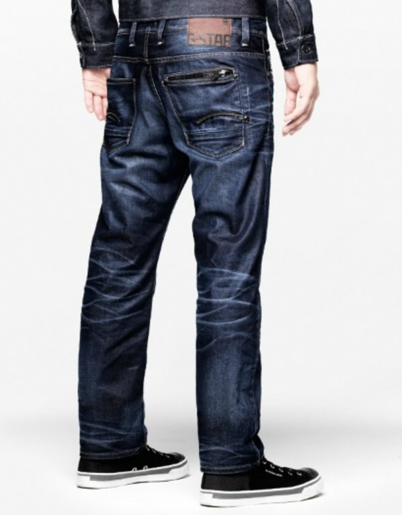 G-Star Attacc low straight - lexicon denim