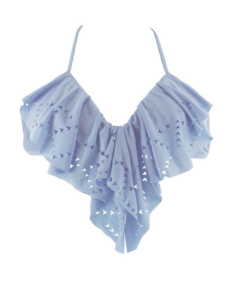 L Space Flutter Bye - Aliza Halter bikini top