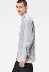 G-Star Landoh Clean Slim Indigo Micro Murdo Oxford Check Dress Shirt