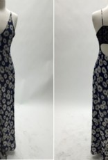 Love Sadie Daisy Lace Back Cutout Maxi Dress