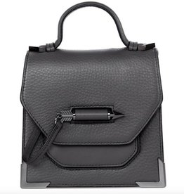 Mackage Rubie-C Structured Pebble Leather Mini Crossbody Bag