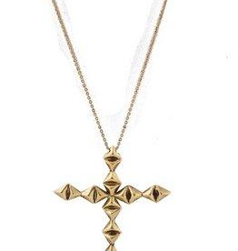 House of Harlow Double sided Diamond cross pendant necklace by House of Harlow<br />Double sided Diamond cross pendant necklace by House of Harlow