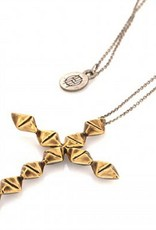 House of Harlow Cross Pendant Necklace