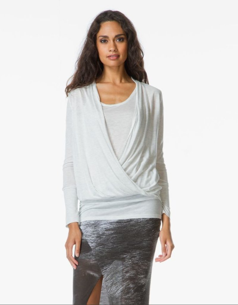 Charli UK Adine Long Sleeve Drape Top