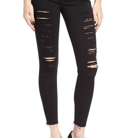 Joe's Jeans The Flawless Icon Distressed Mid Rise Skinny Ankle