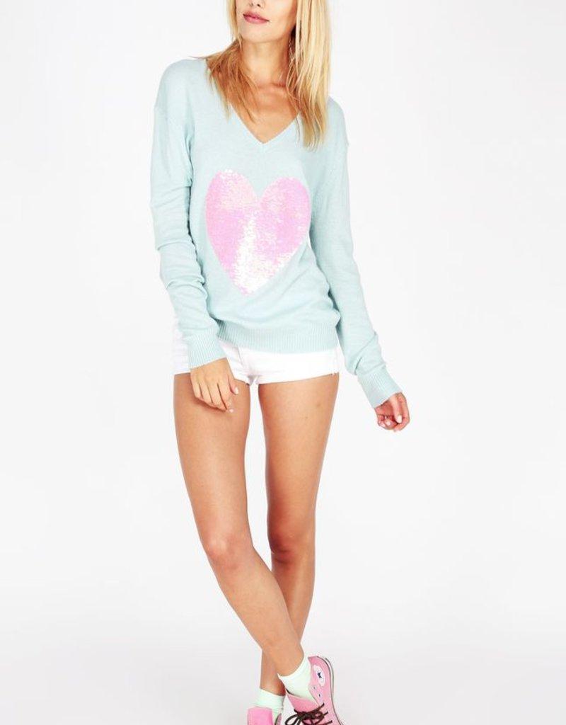 Wildfox Couture Brigitte's Heart Sweater