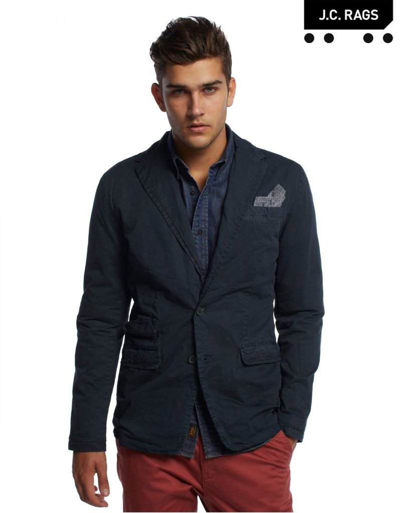 JC Rags Deconstructed Blazer