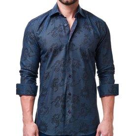 Maceoo Luxor Jacquard Future Dress ShirtLuxor Jacquard Future Dress Shirt