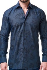 Maceoo Luxor Jacquard Future Dress Shirt